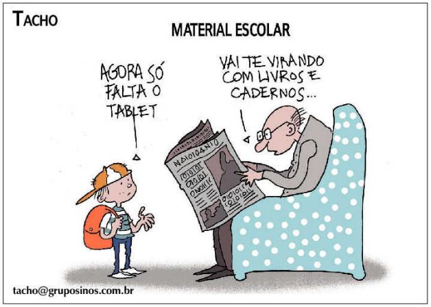 material escolar tacho