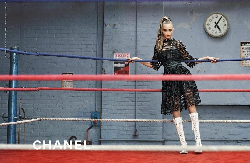 Chanel Fall Winter 2014 Ad Campaign