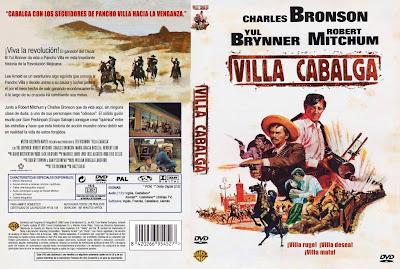 Cover Dvd: Villa Cabalga | 1968 | Villa Rides