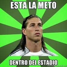 Sergio Ramos penalti Bayern Munich Champions League humor cachondeo bromas guasa memes mofa befa