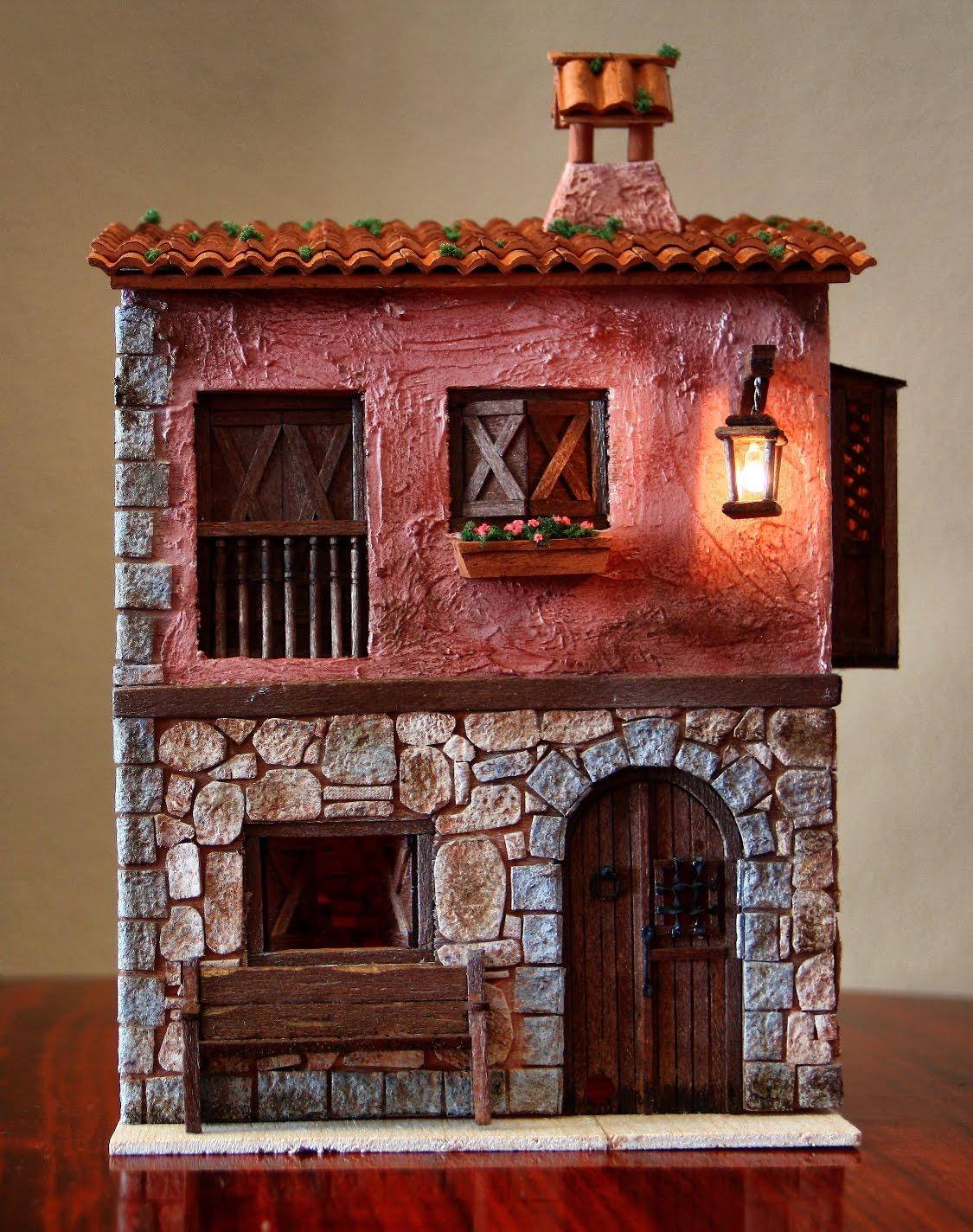 Enero 2012 miniaturas de carmen - Como hacer casas en miniatura ...