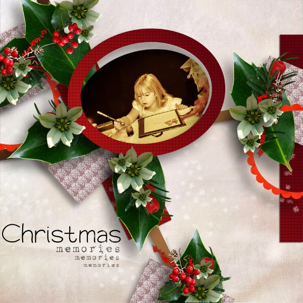 """Christmas memories"" de Happy Scrap Arts"