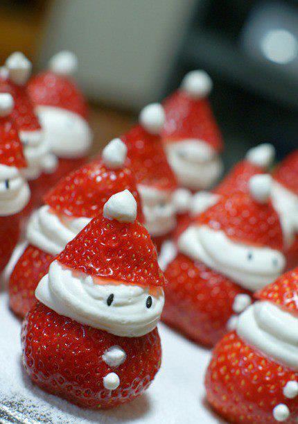 tomtar, jordgubbar