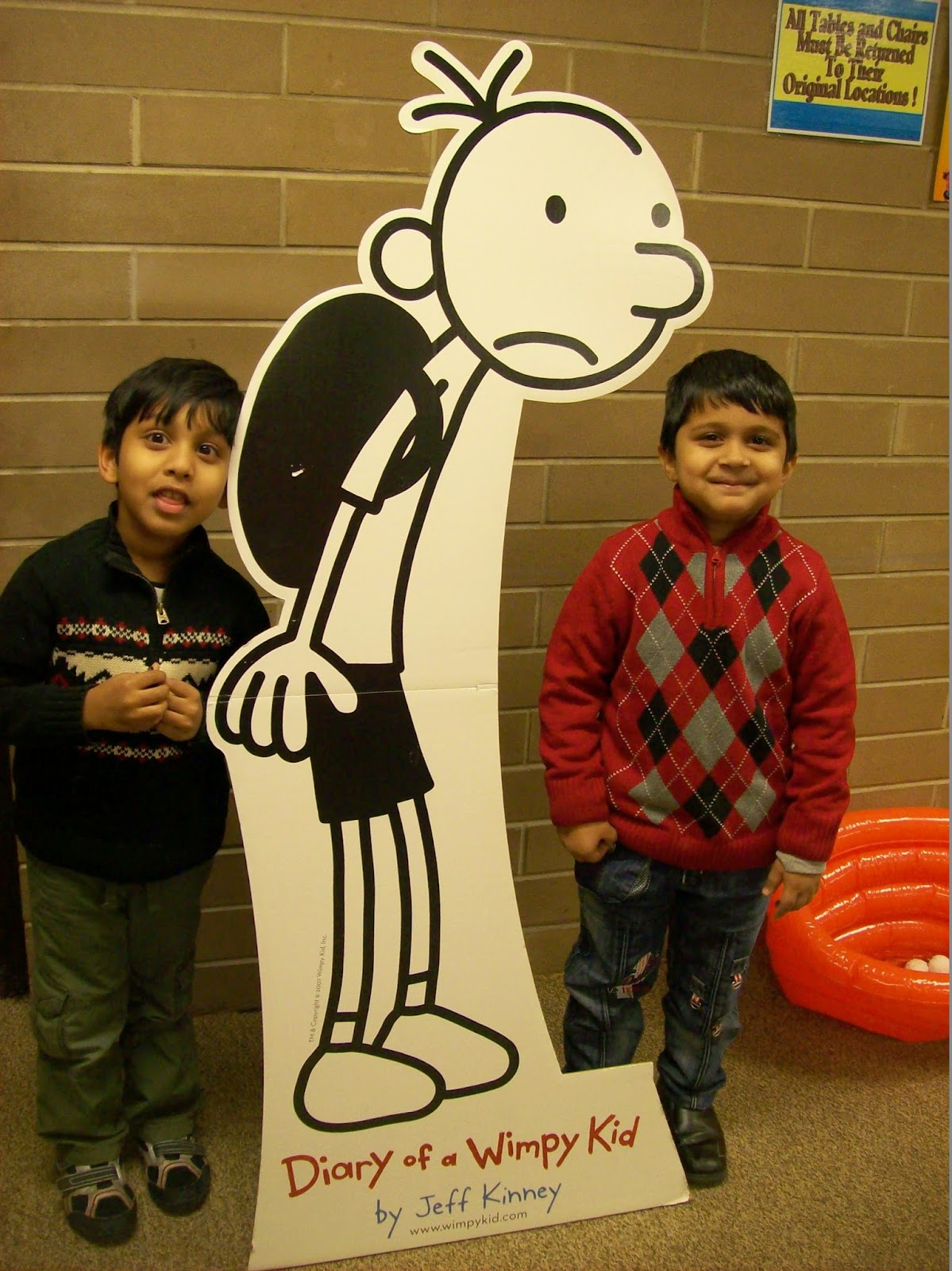 Storytime diary of a wimpy kid party for Diary of a wimpy kid crafts