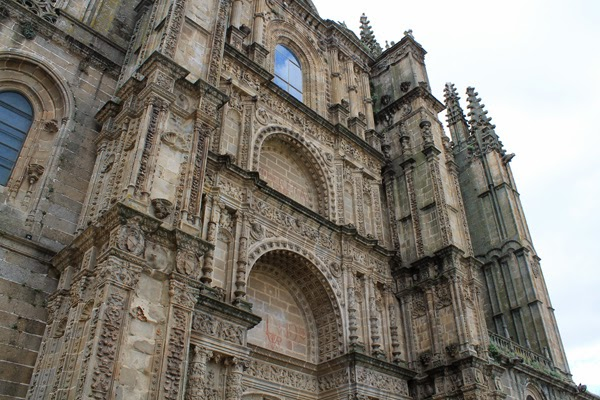 catedral nueva de Plasencia, patio