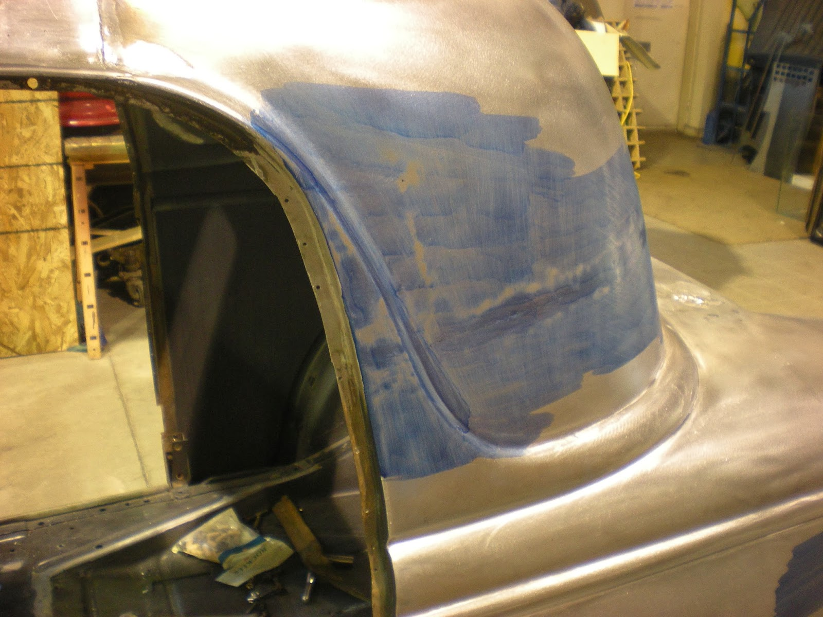 how to get dents out of sheet metal