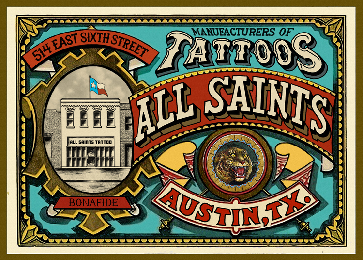 all saints tattoo austin may 2012