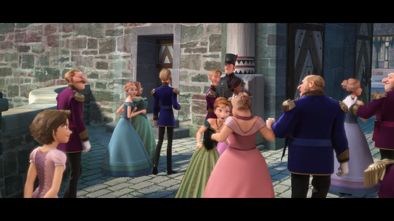 rapunzle in frozen