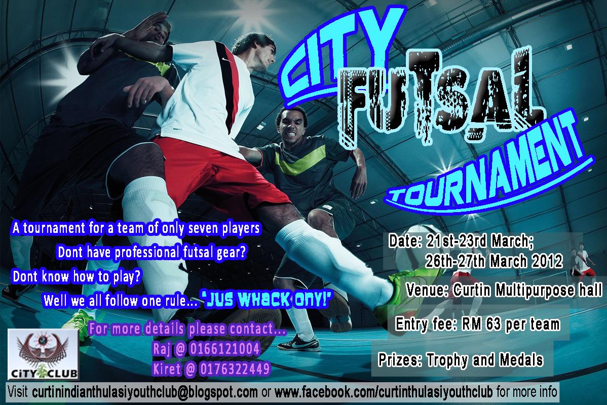 Futsal poster template