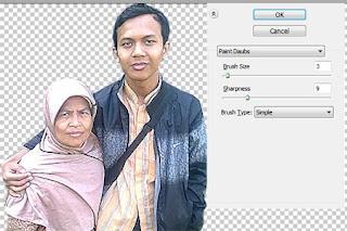 Tutorial memberi efek Lukisan atau kartun pada foto Dengan Photoshop
