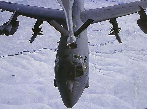 B 52 Long-Range Bombers Plane