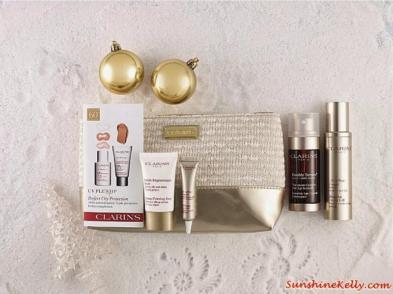 Clarins No 1 Serums Set, Clarins Christmas set, Clarins gift set, Clarins, Clarins malaysia, Gift Sets, Christmas Gift,