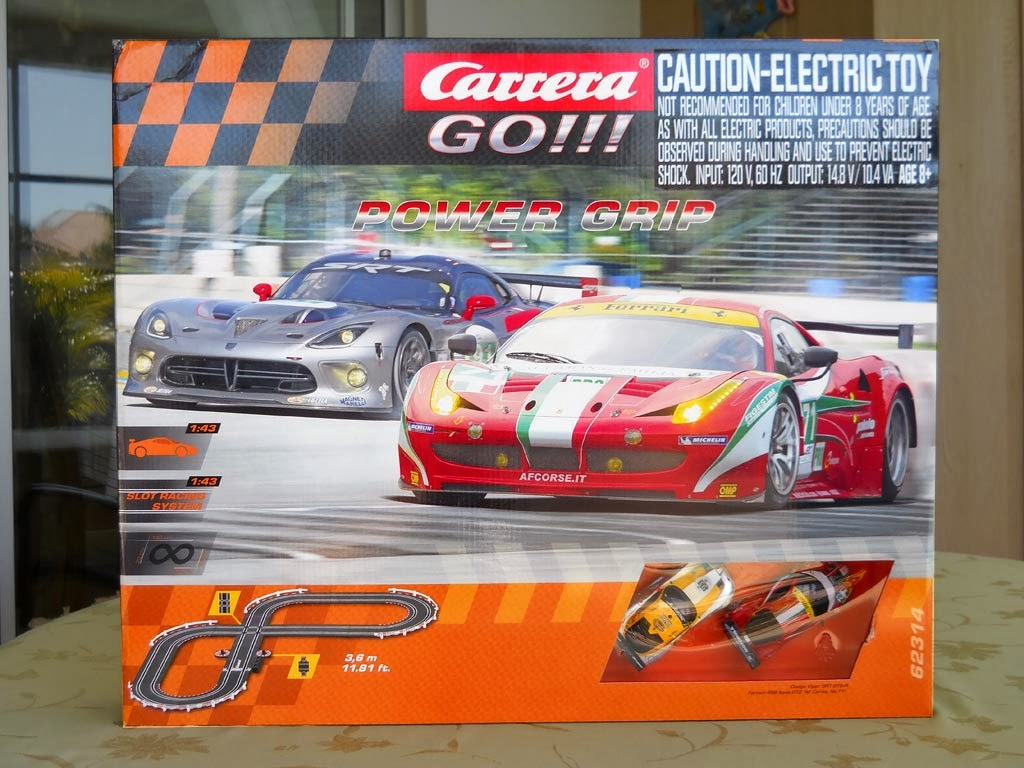 BRS Hobbies Blog: Carrera GO!!! Power Grip 1/43 Race Set