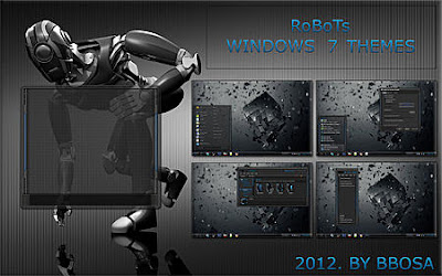 THEME WINDOWS 7 ROBOTS COOL TERBARU