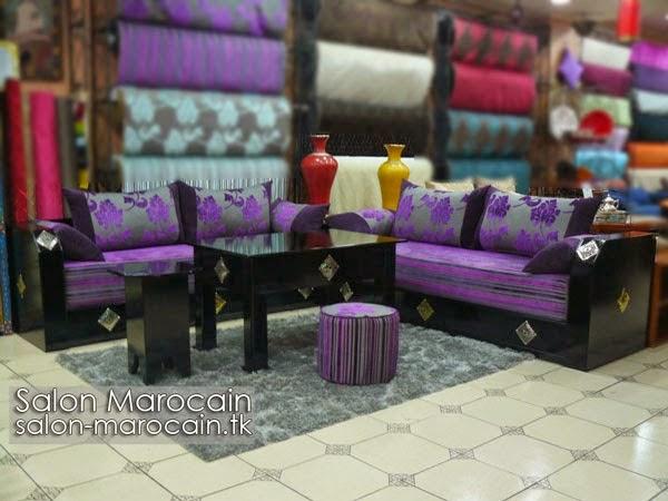 Salon marocain moderne harmonieux attrayant