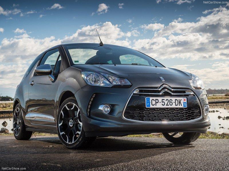 novo Citroën DS3 2014 dianteira