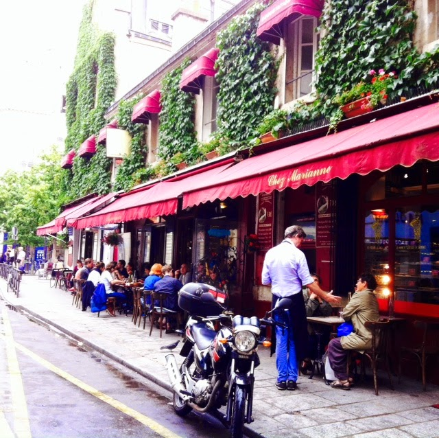 Vicki and Lily Take on the Marais: Chez Marianne