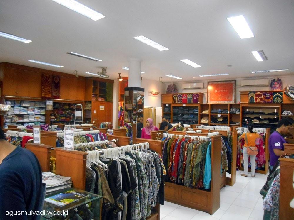 Berkunjung ke Batik Jayakarta  Agus Mulyadi Blog