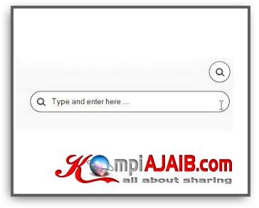 Simple Search Box, Menyembunyikan Search Box Dalam Icon