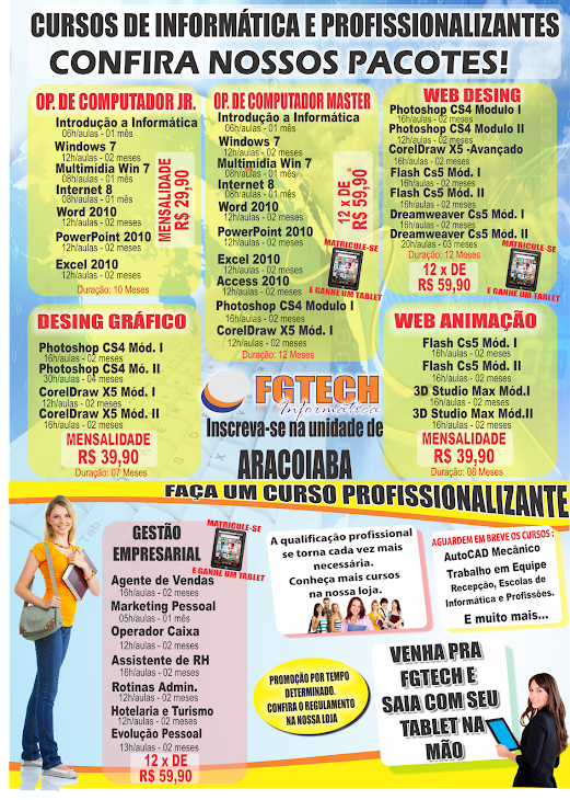 FGTECH - CURSOS
