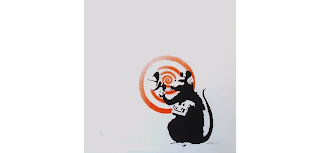 Radar Rat, 2004 Sonic Rat by Banksy