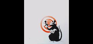 Radar Rat, 2004 Sonic Rat by Banksy