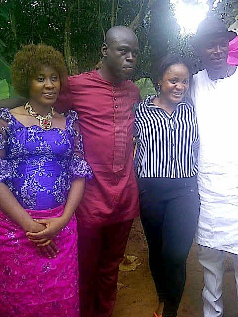 Kamify Blog Barely One Year Pregnant Nollywood Actress Uche Ogbodos Marriage Hits The Rock