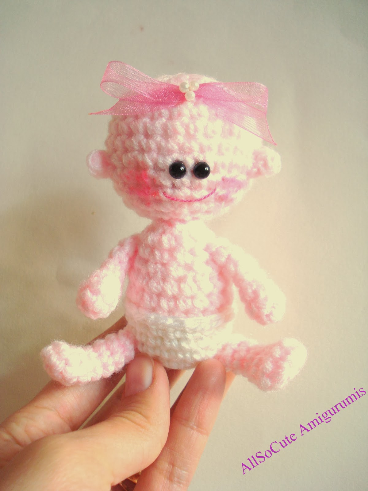 Amigurumi Crochet Patterns Baby : AllSoCute Amigurumis: Amigurumi Baby, Crochet Baby