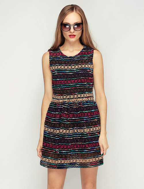 Coco Crochet Knitting Dress