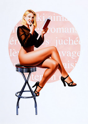 french pin up girl