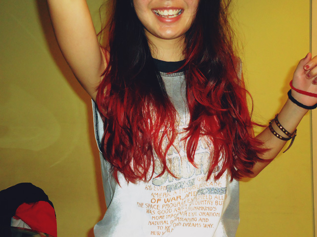 that is what is up Dip dye d
