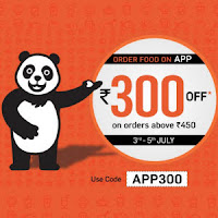 Foodpanda Flat 50% Off (Max. Rs.150) – Valid For All Users : Buy To Earn