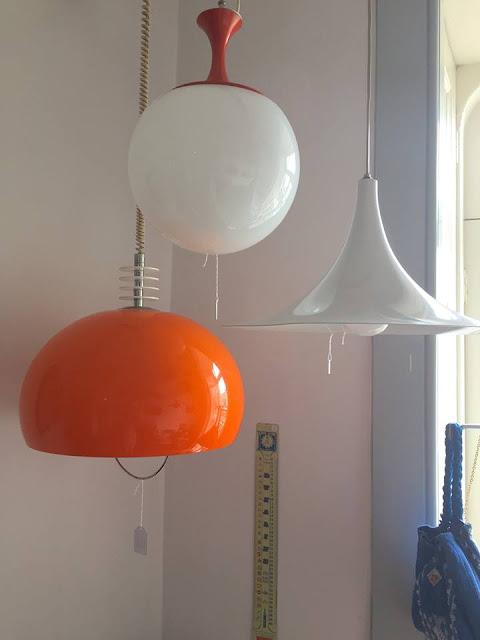 vintage, lamps, candeeiros, iluminação, decoração
