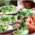 Pieczony łosoś w ziołach z surówką i ziemniaczkami
