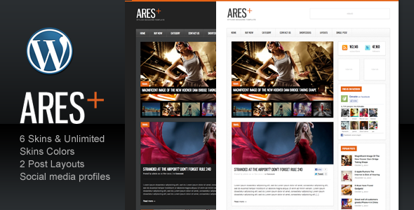 Image for Ares – Blog Magazine Newspaper Theme by ThemeForest