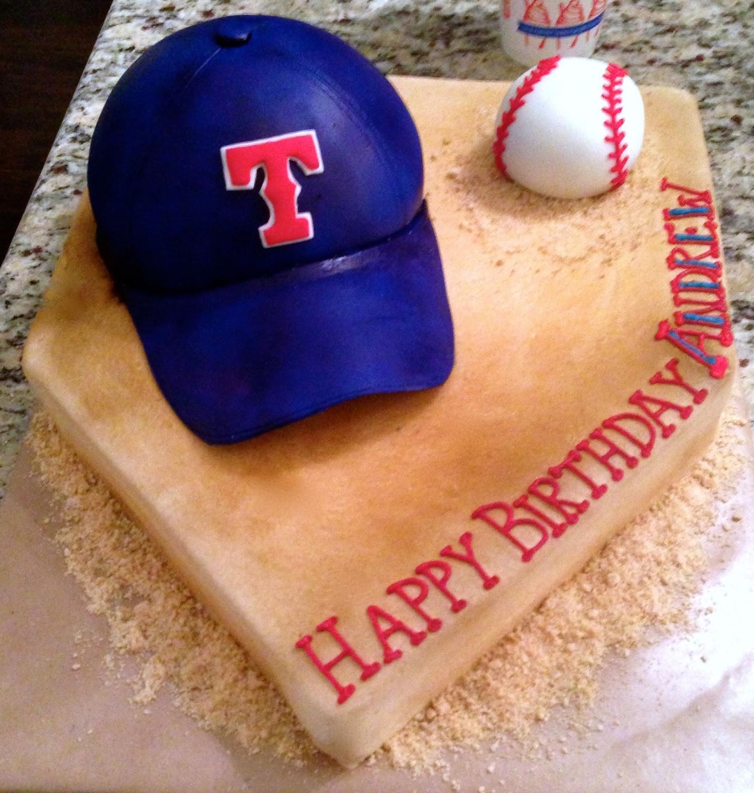 Birthday Cakes Katy Tx ~ Katycakes andrew s texas rangers cake