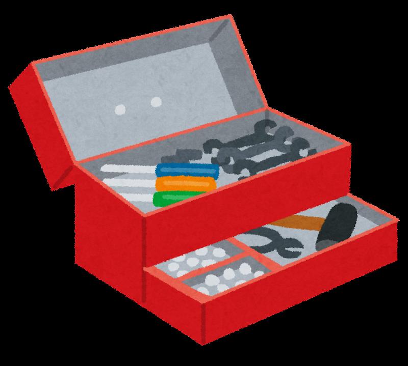 道具箱のイラスト | かわいい ... : 無料素材 年賀状 : 年賀状