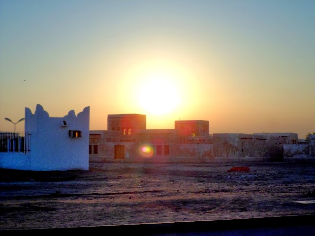 Sunset at Wakra beach in Doha,Qatar Photos