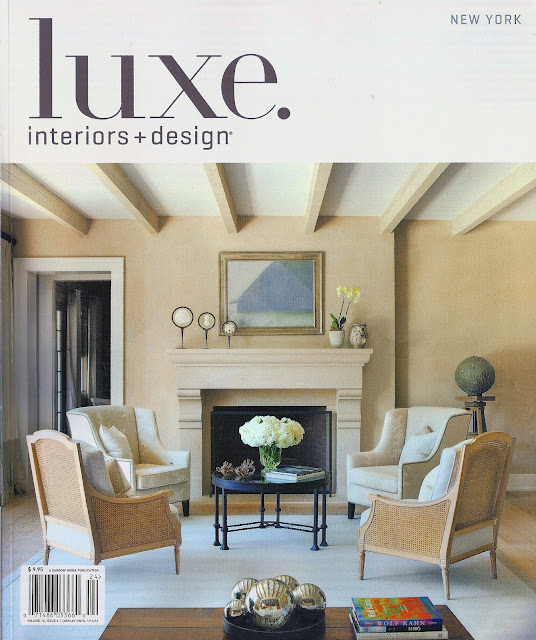 Francine gardner art de vivre my latest project in luxe for Hotel luxe design