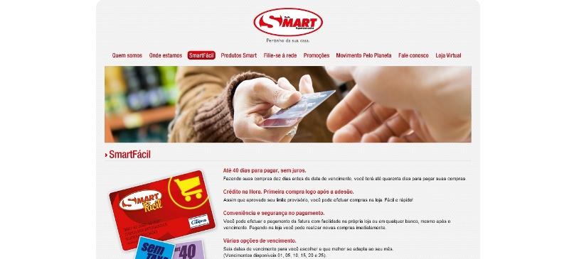 Cia dos cart es solicitar cart o smartf cil rede - Central de compras web ...