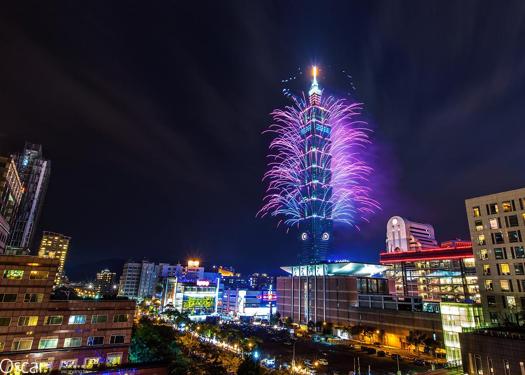擁抱2014年台北101跨年煙火  EYE Taiwan X Oscar Yang
