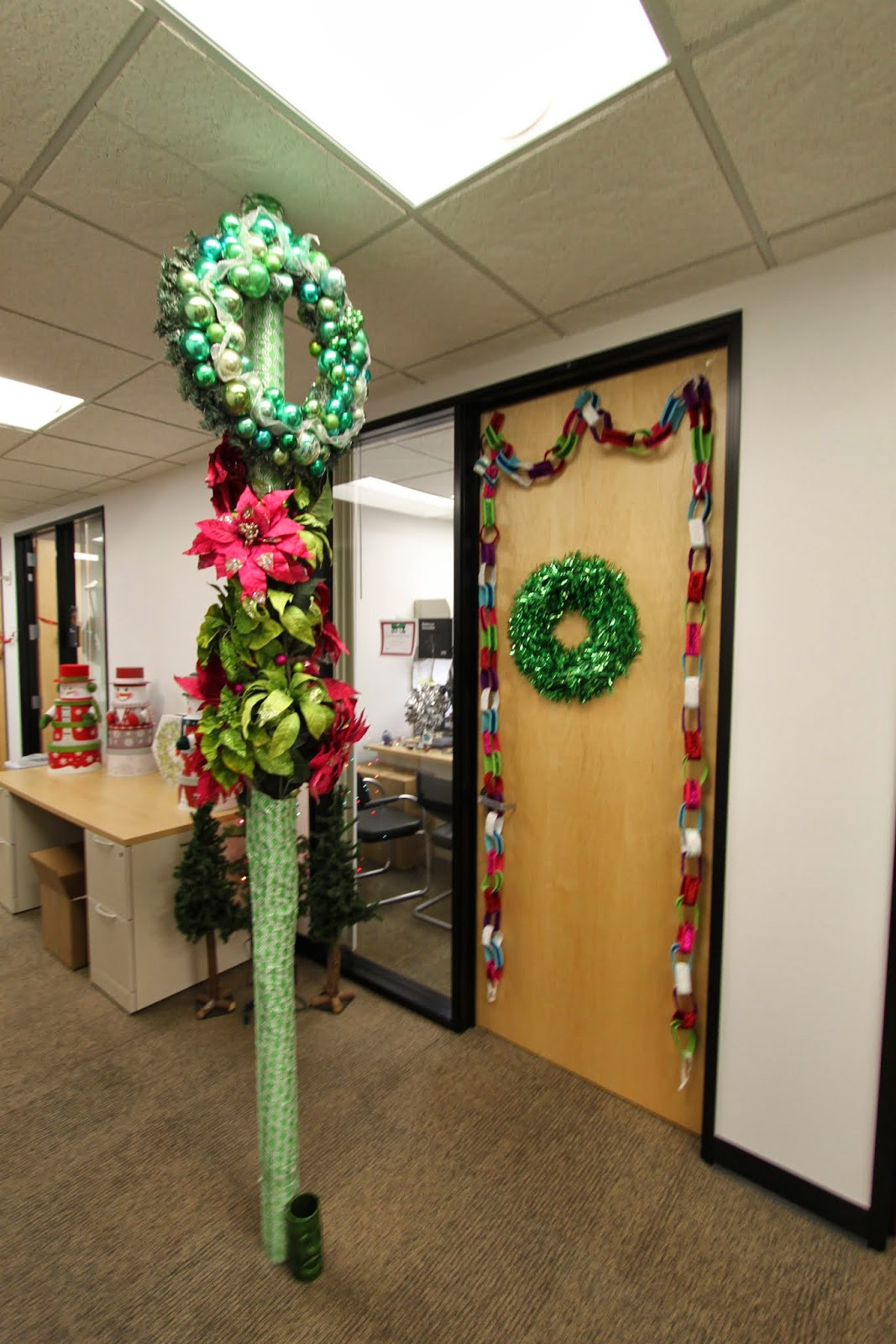 Christmas Pole Decorating Contest