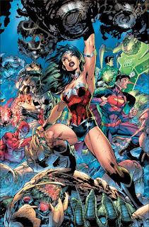 Justice League#3 : arrivée de wonder woman dans les rangs.