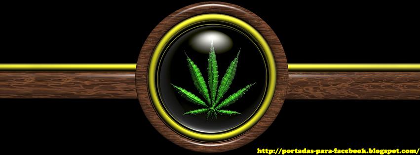 Portadas para Facebook: Portada para Facebook de Marihuana
