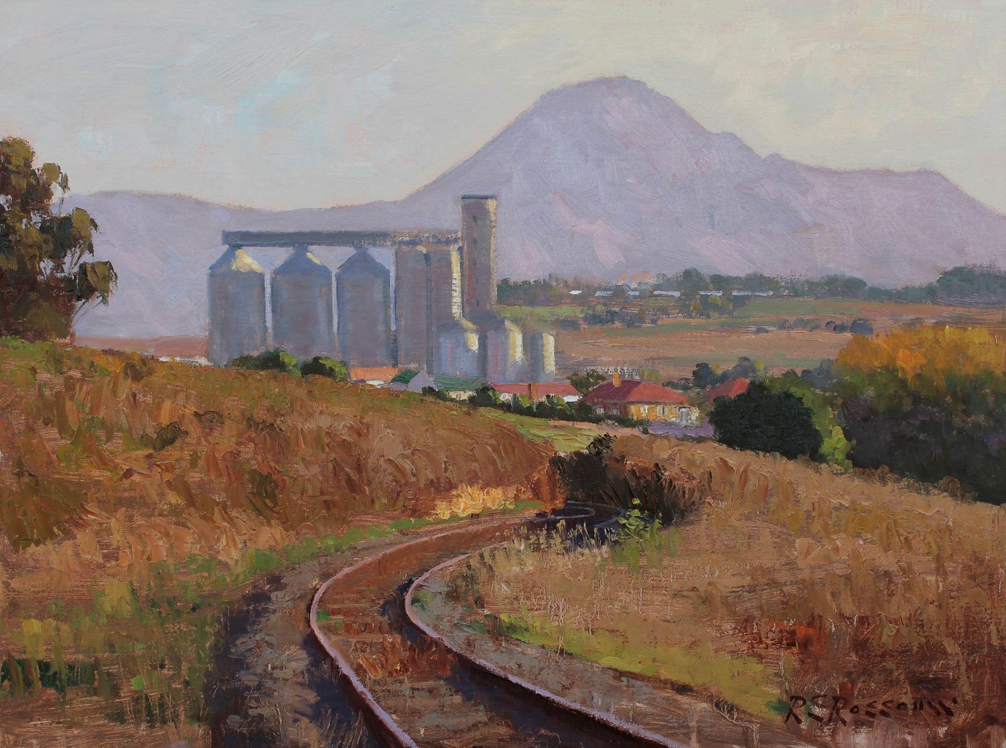 Roelof Rossouw Old Railway Track Caledon