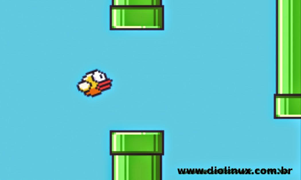 Flappy Bird jogado por Robo