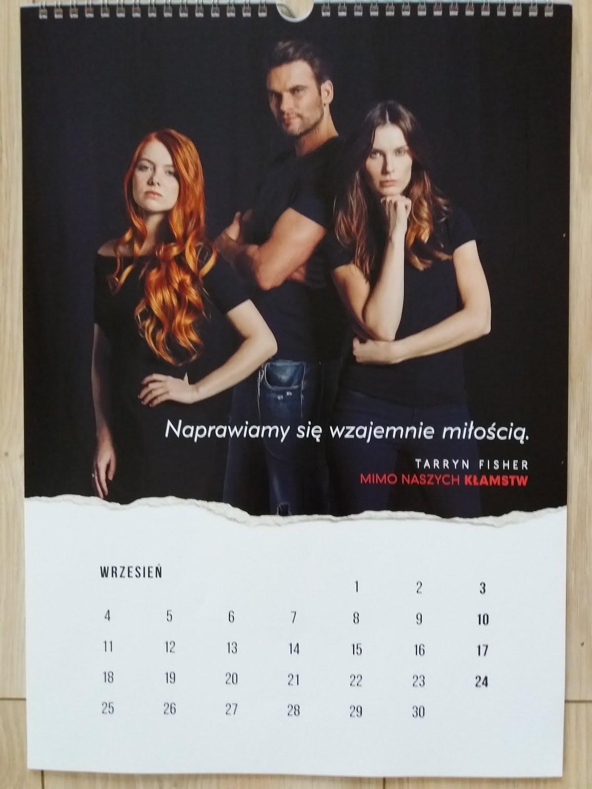Kartka z kalendarza - wrzesień