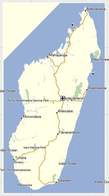 GPSTravelMapscom Madagascar Garmin GPS Map