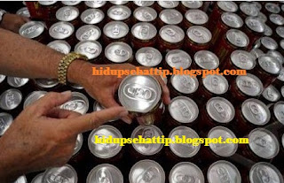 Bahaya Minuman Kaleng Kotor