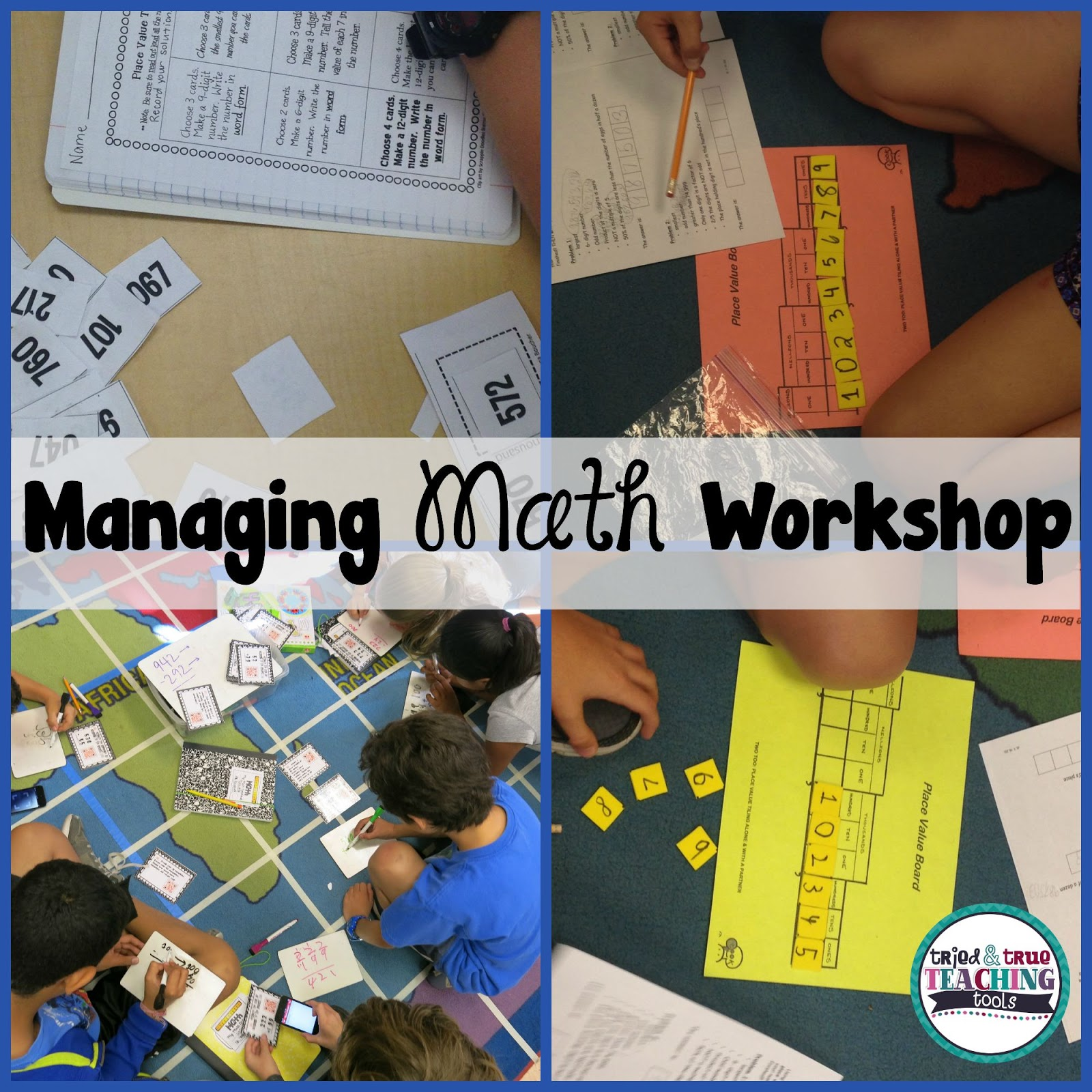 Managing Math Workshop | <!--Can\'t find substitution for tag [blog ...